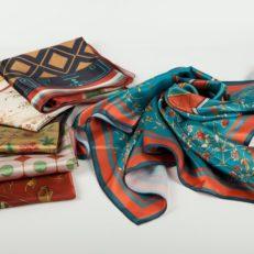 Печать на платках для музея-заповедника «Петергоф»