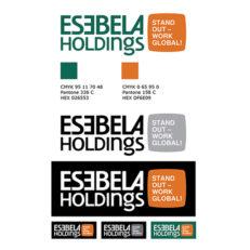 Дизайн логотипа для Esebela Hld.