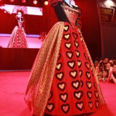 Печать на ткани для костюма Красной Королевы