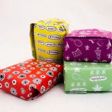 Дизайн упаковочной бумаги