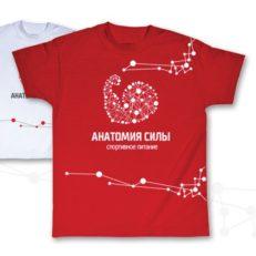 Фирменный стиль сети магазинов «Анатомия силы»