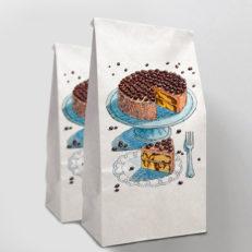 Крафт-пакеты для сети кондитерских «Сладкоежка»