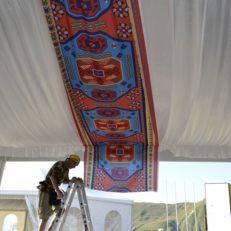 Печать на ткани для Art Decor Group