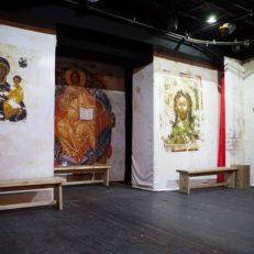 Печать декораций для театра «Комедианты»