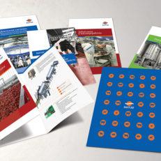 Дизайн полиграфии для компании «БалтСиб»