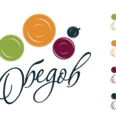 Редизайн логотипа ресторана «Обедов»