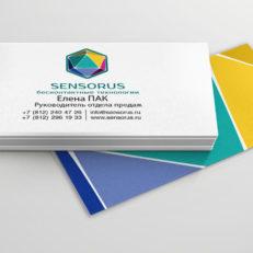 Фирменный стиль и полиграфия для компании Sesorus