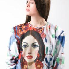 Толстовки для художницы Агнессы Гридневской