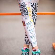 Printing on leggings