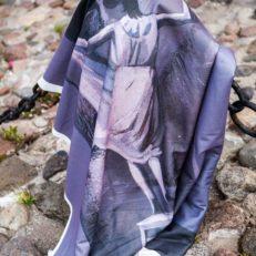 Печать на пледах для музея Эрарта