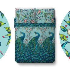 Дизайн постельного белья для ТМ «Павлина»