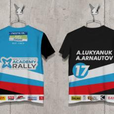 Производство и дизайн футболок для Дмитрия Арсеньева