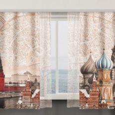Дизайн штор для компании Clarum