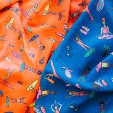 Печать на ткани для True Mermaid