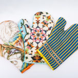 Oven glove/hot dish pads