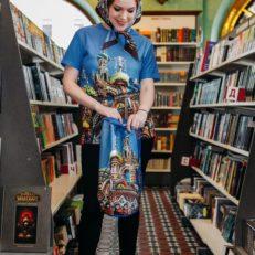 Текстильные сувениры для Дома Книги