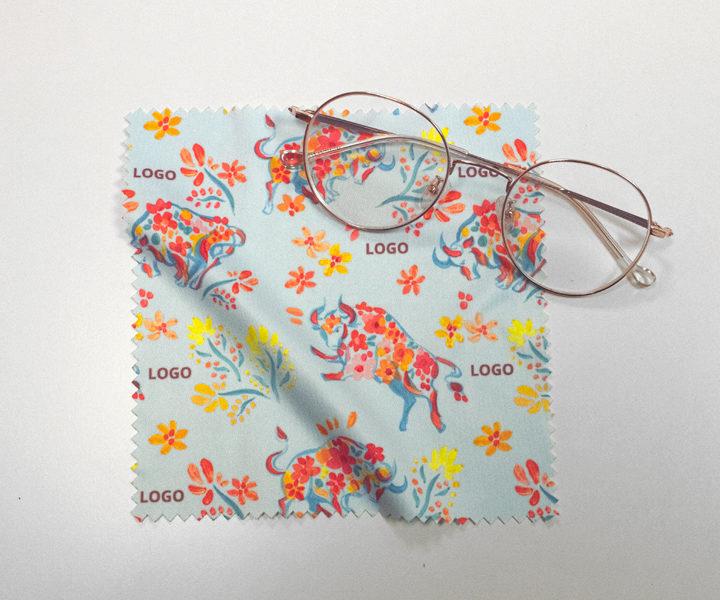 Eyeglass cleaner cloth