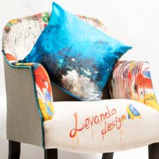 Подушки для музея современного искусства Эрарта