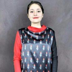 Печать на ткани для бренда SASCHA KONEVA BERLIN