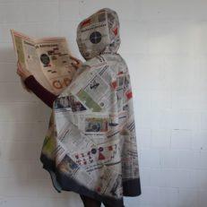 Дождевик и сумка для газеты «Деловой Петербург»