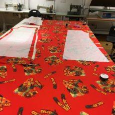 Печать тканей для дизайнера Анастасии Янсэтер