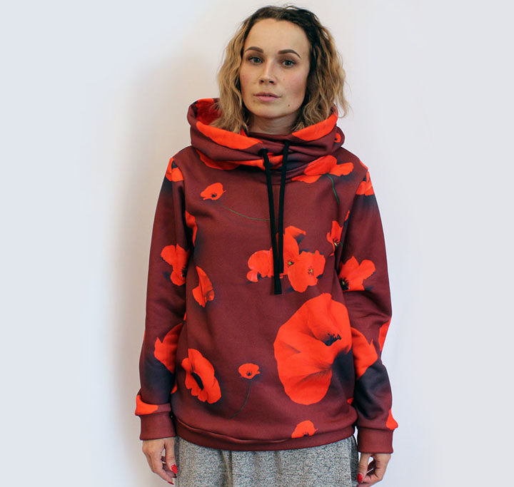 Hoodie Assassin with your prints to order