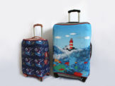 Изготовим чехлы для чемоданов на заказ