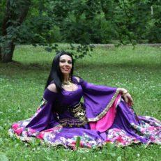 Печать ткани для театра цыганского танца и песни «Шатрица»