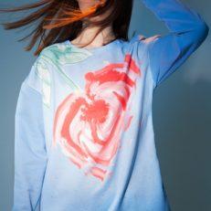 Печать ткани для коллекции одежды проекта «Другие берега»