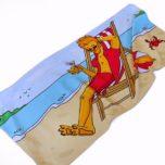 Полотенце для пляжа и спорта