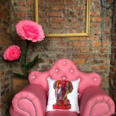 Подушки для дизайнера Елизаветы Захаровой