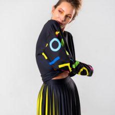 Печать ткани для дизайнера Алины Лукояновой