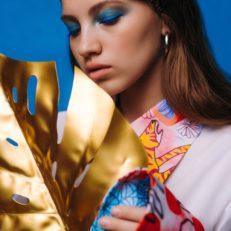 Печать на ткани для дизайнера Александры Давыдовой