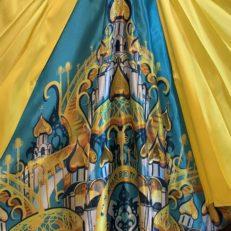 Печать на ткани для шоу «Кабы я была царицей»