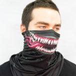 Маска-шарф с углом однослойная