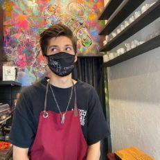 Печать масок для выставки KGallery «Цой. Не кончится лето»