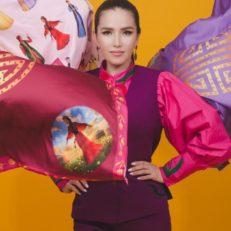 Платки для дизайнера Дианы Босхомджиевой