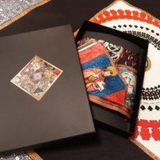 Печать на ткани для Петербургского музея парфюмерии