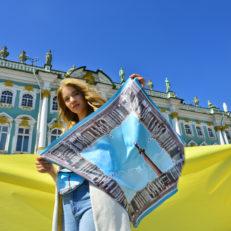 Текстильная коллекция для туристско-информационного бюро Санкт-Петербурга