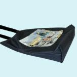 Сумка-шоппер с закладным дном и карманом